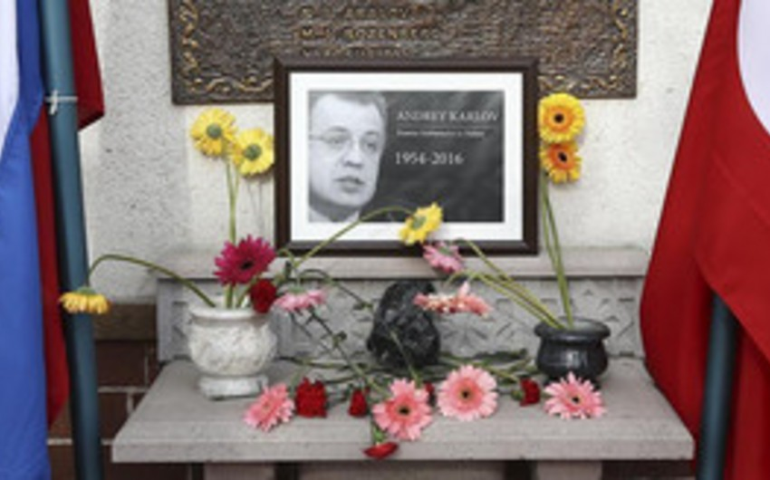 Rusiyanın Ankaradakı səfirliyinin yerləşdiyi küçəyə mərhum səfir Andrey Karlovun adı verilib