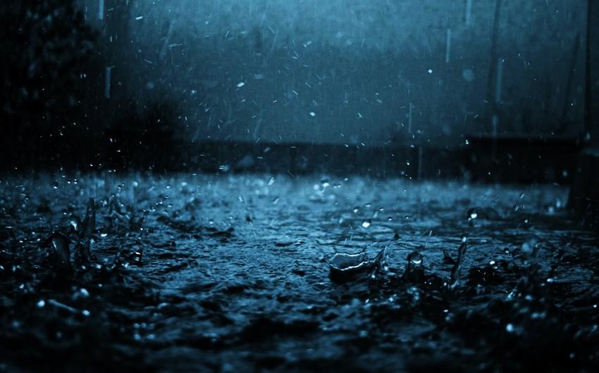 Bazar günü Azərbaycanda hava yağmurlu olacaq