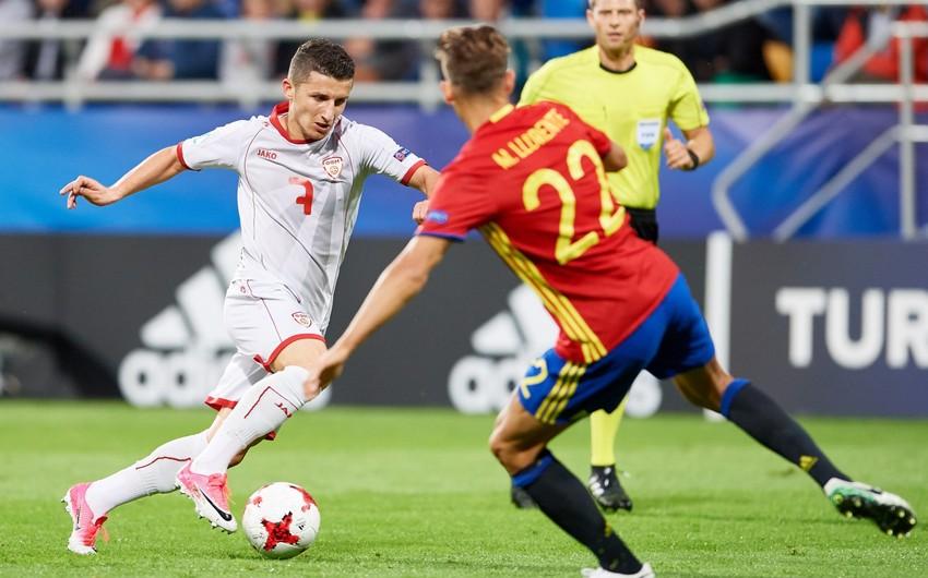Makedoniya millisinin futbolçusu: Azərbaycanla görüş adi yoldaşlıq oyunu deyil