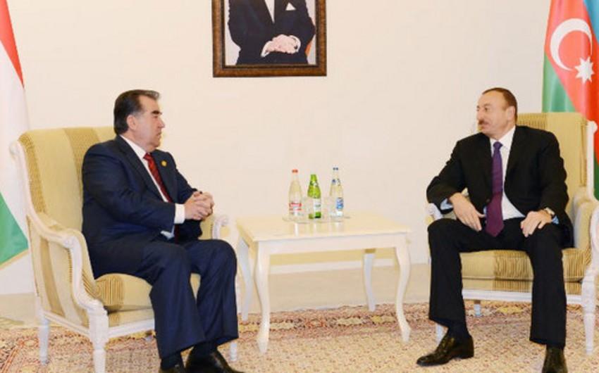 Президент Азербайджана направил таджикскому коллеге поздравительное письмо
