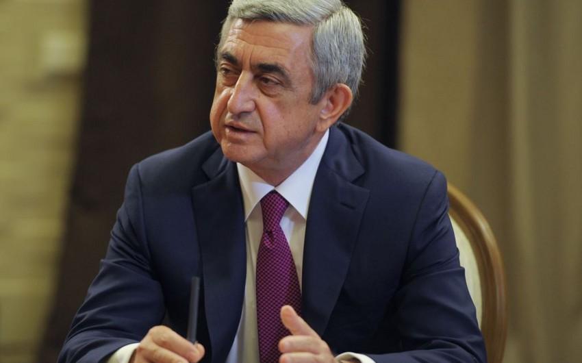 Ermənistan prezidenti avqustun 10-da Rusiyaya səfərə gedəcək