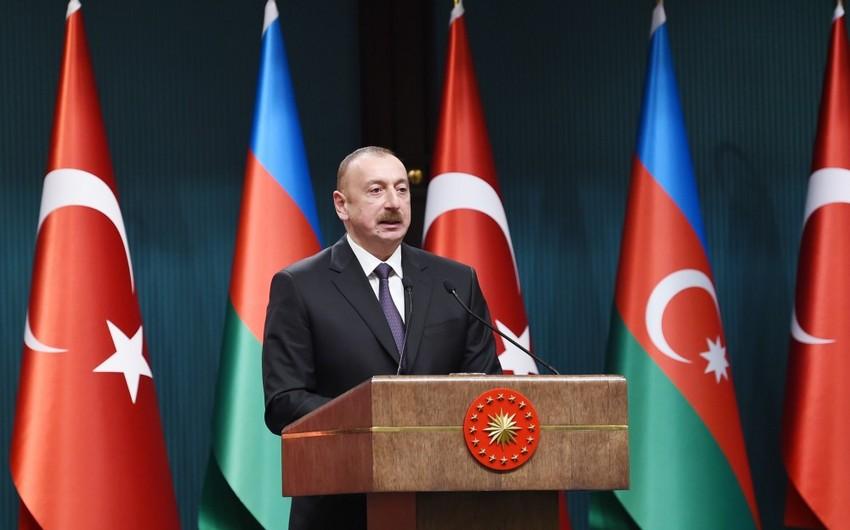 Президент Азербайджана: Мы всегда вместе с Турцией