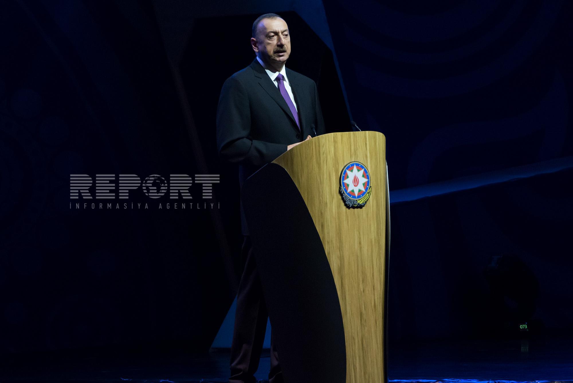 Президент Азербайджана принял участие на официальном открытии 48-ого ежегодного заседания Совета руководителей Азиатского банка развития