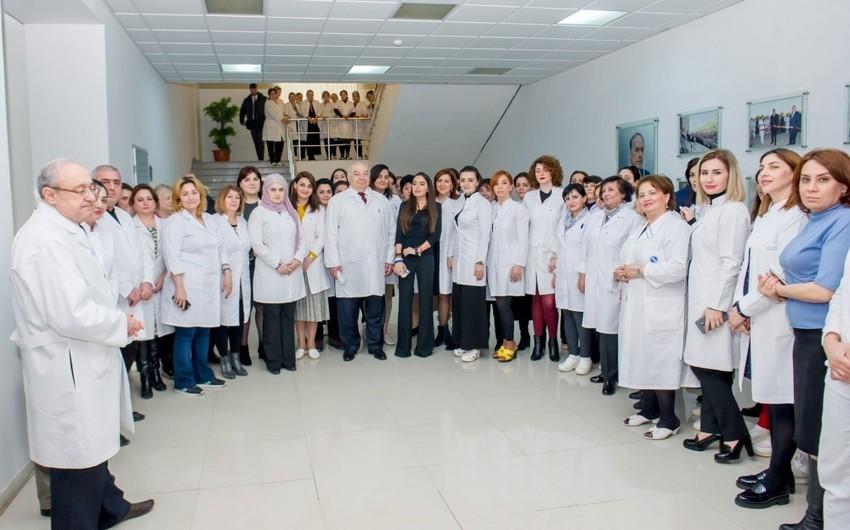 Leyla Əliyeva Elmi-Tədqiqat Hematologiya və Transfuziologiya İnstitutunda olub