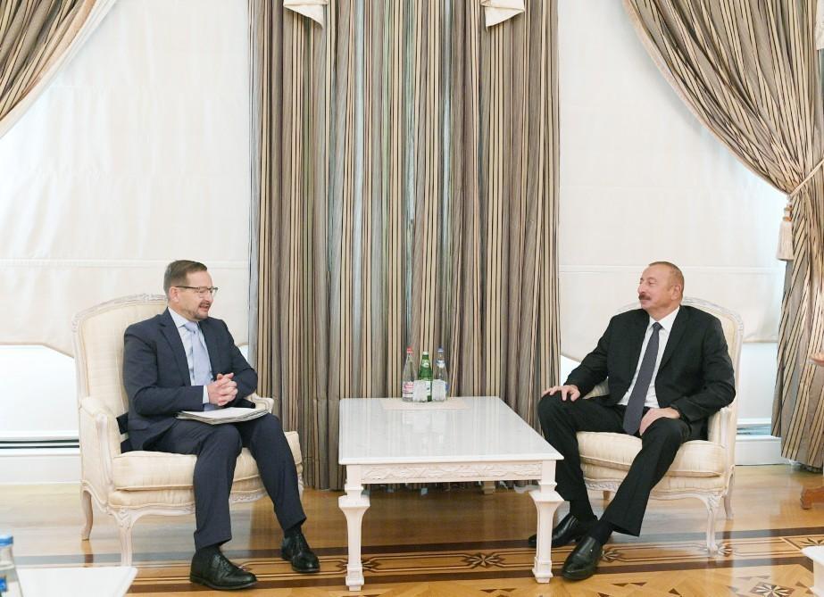 Президент Ильхам Алиев принял генерального секретаря ОБСЕ