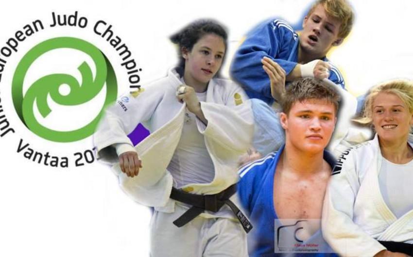 Azərbaycan cüdoçuları Avropa çempionatının ilk günündə üç medal qazanıb