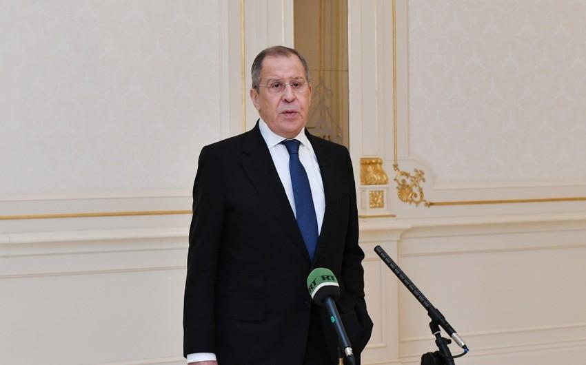 Sergey Lavrov: Razılaşmaları şübhə altına almaq cəhdləri baş tutmayacaq