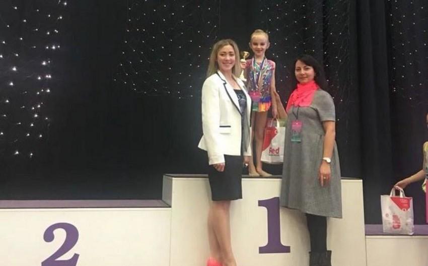 Azerbaijani gymnast grabs gold medal in Hungary