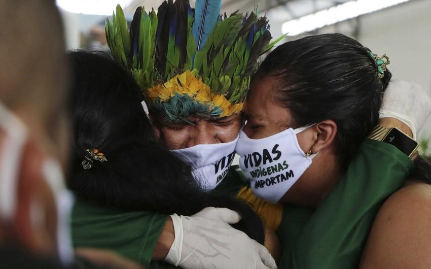 Braziliyada koronavirusa yoluxanların sayı 9 milyonu ötüb