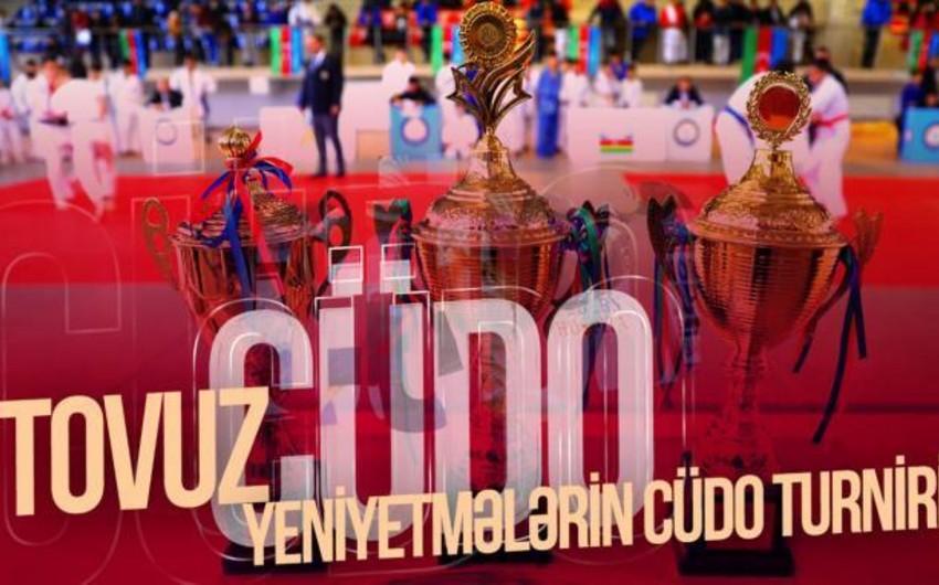 Tovuzda keçirilən yeniyetmələr arasında cüdo yarışlarında Bakı komandası qalib olub - VİDEO