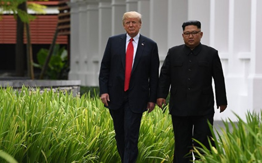 Donald Tramp Kim Çen Ina etibar etdiyini deyib