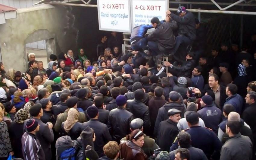 Türkiyə vətəndaşı Astara Gömrük Nəzarət Məntəqəsində ölüb