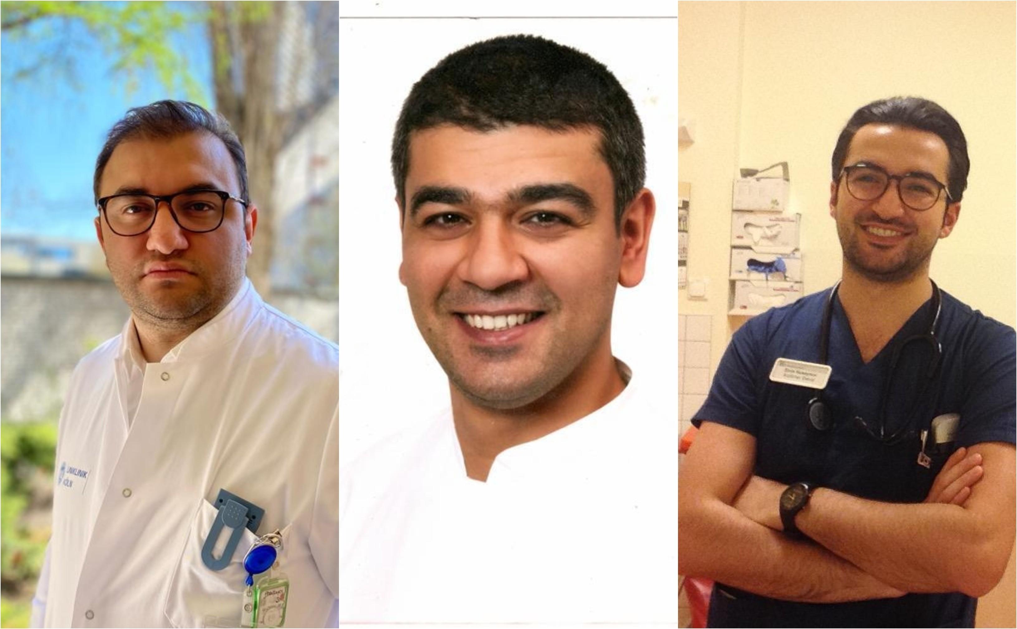 Nuran Abdullayev, Orxan Səfərov və Elvin Hüseynov