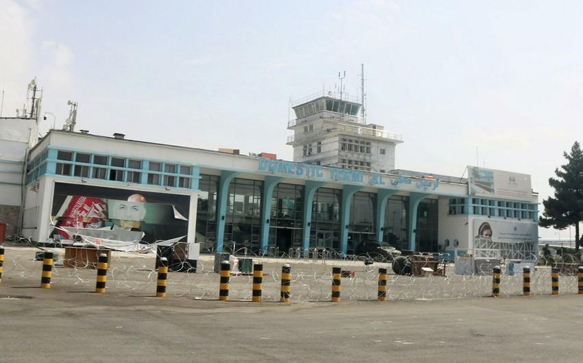 """""""Taliban"""" Kabil aeroportunun adını dəyişib"""