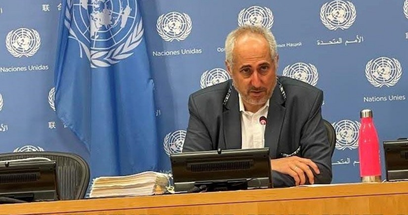 UN Secretary-General spokesperson issues statement on Azerbaijan and Armenia