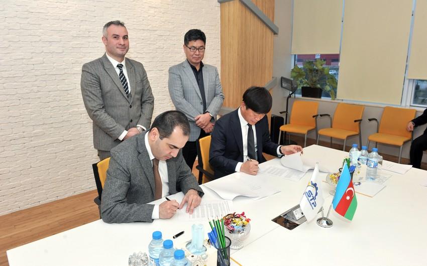 STP Cənubi Koreya şirkətləri ilə birgə əməkdaşlıq müqaviləsi imzalayıb