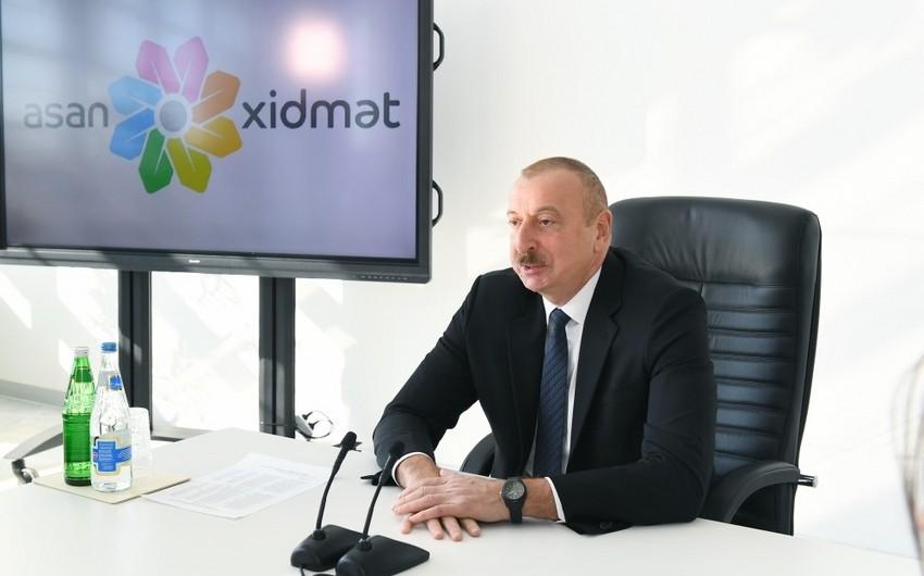 Prezident: Azərbaycan dövləti Könüllülər hərəkatına çox böyük önəm verir