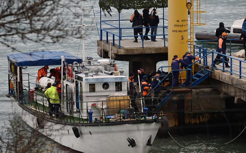 Водолазы обнаружили на дне Черного моря фюзеляж Ту-154