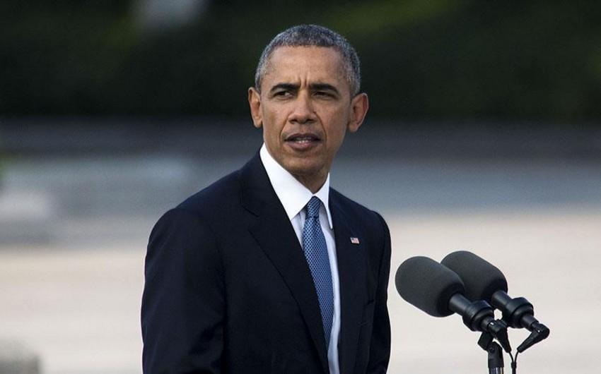 Obama: Ölkəmizin təhlükəsizliyi üçün Əl Qaidə və İŞİD-i məhv edəcəyik