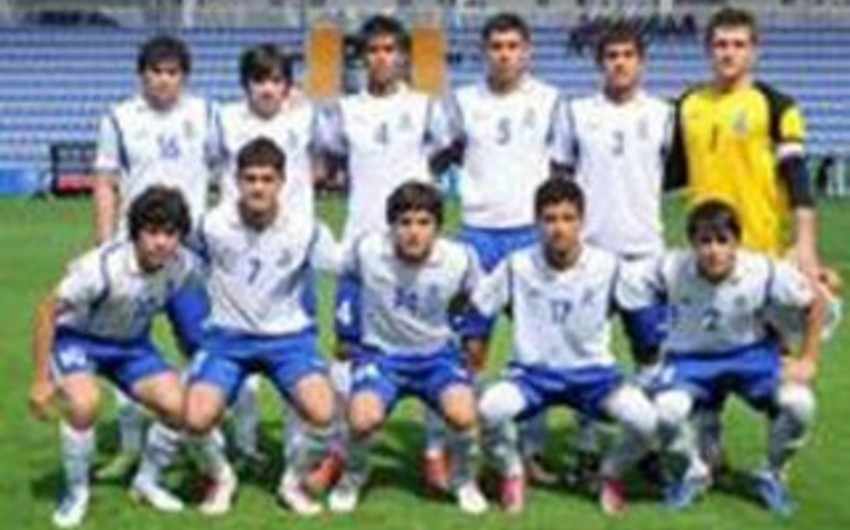 Futbol üzrə AÇ-nin ilkin seçmə mərhələsində Azərbaycanın U-17 yığması qrupda son oyununa çıxacaq