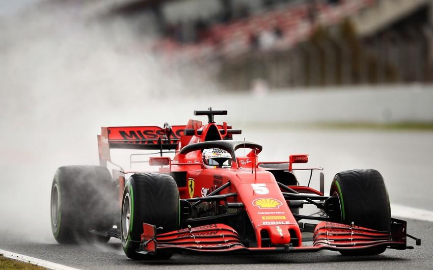 Formula 1: İkinci günün qalibi Sebastyan Vettel oldu