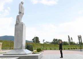 Ilham Aliyev pays visit to Shaki city