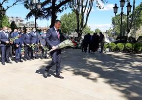 В Грузии почтили память общенационального лидера Гейдара Алиева