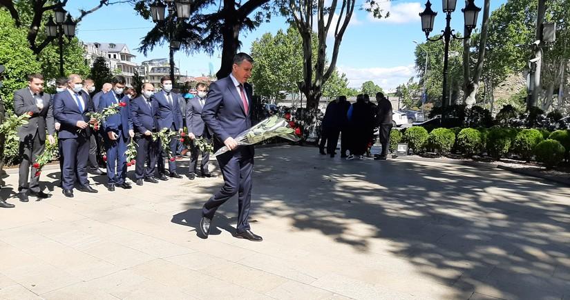 GürcüstandaAzərbaycanın ümummilli liderinin xatirəsi yad edilir