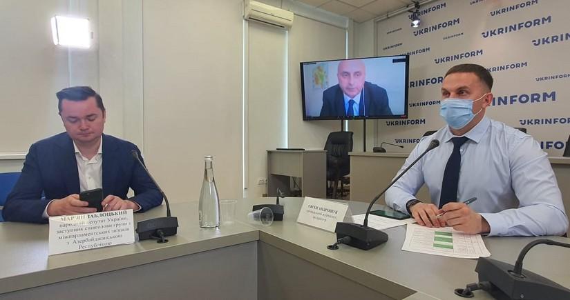 Ukrayna ilə Azərbaycan arasında əməkdaşlıq perspektivləri müzakirə edilib