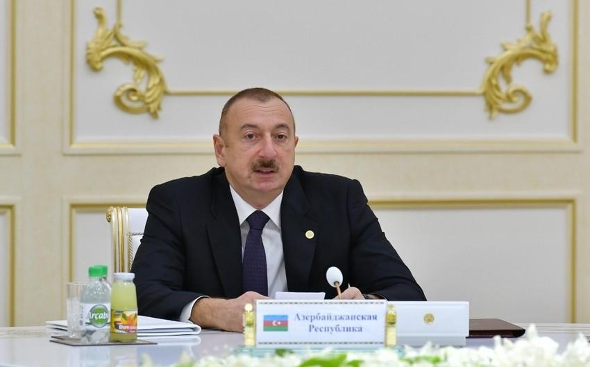Azərbaycan Prezidenti: MDB məkanında faşizmin qəhrəmanlıq kimi qələmə verilməsinə yer yoxdur