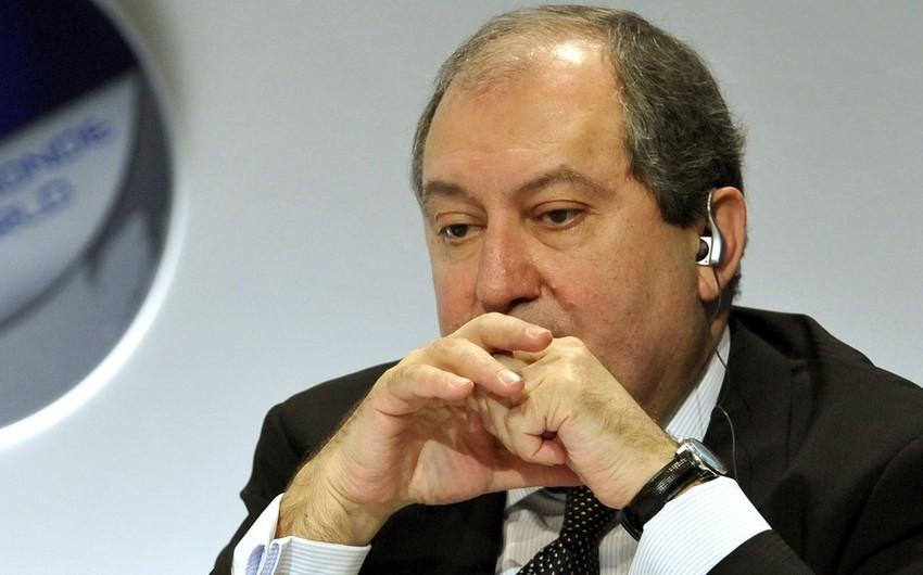 Ermənistan prezidentinin ikili vətəndaşlığı məsələsini istintaq araşdıracaq