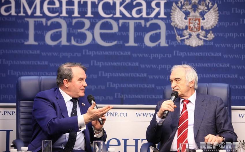 Rusiyalı senator: Dağlıq Qarabağ məsələsinin həllini uzatmaq mümkün deyil