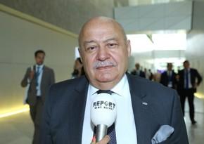 Azərbaycan Memarlar İttifaqının sədri Elbay Qasımzadə