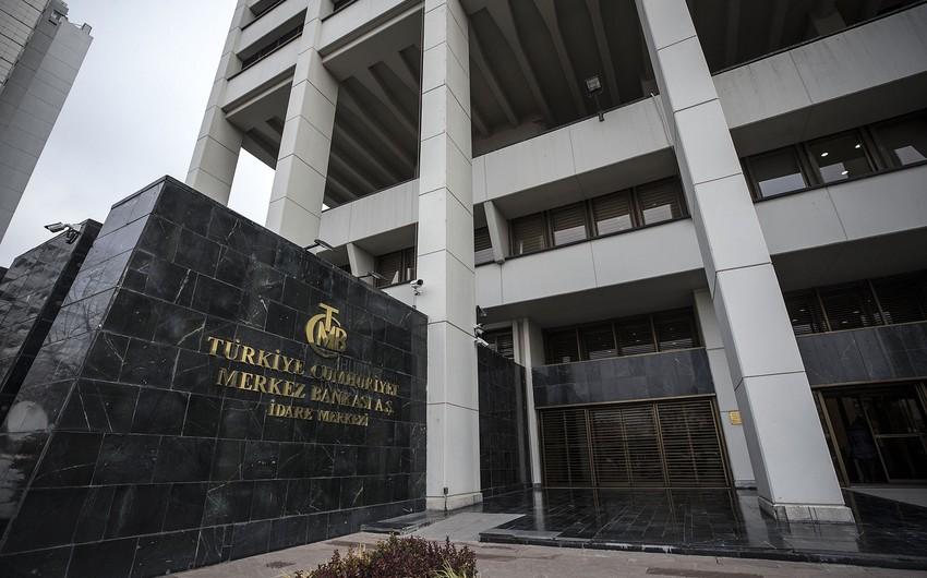 Türkiyə Mərkəzi Bankının valyuta ehtiyatları cüzi azalıb
