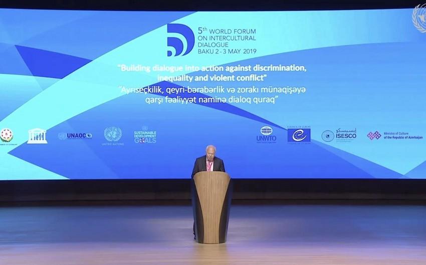 Высокий представитель UNAOC: Значение диалога как главного инструмента предотвращения конфликтов невозможно переоценить