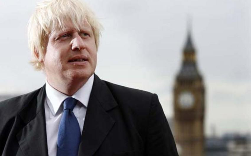 Boris Conson Birləşmiş Krallığın baş naziri vəzifəsi uğrunda seçki kampaniyasına start verib