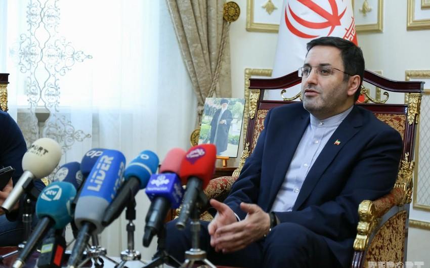Səfir: İran və Azərbaycan arasında heç bir siyasi problem yoxdur