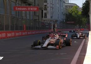 Azerbaijan GP: Winner of second Free Practice announced