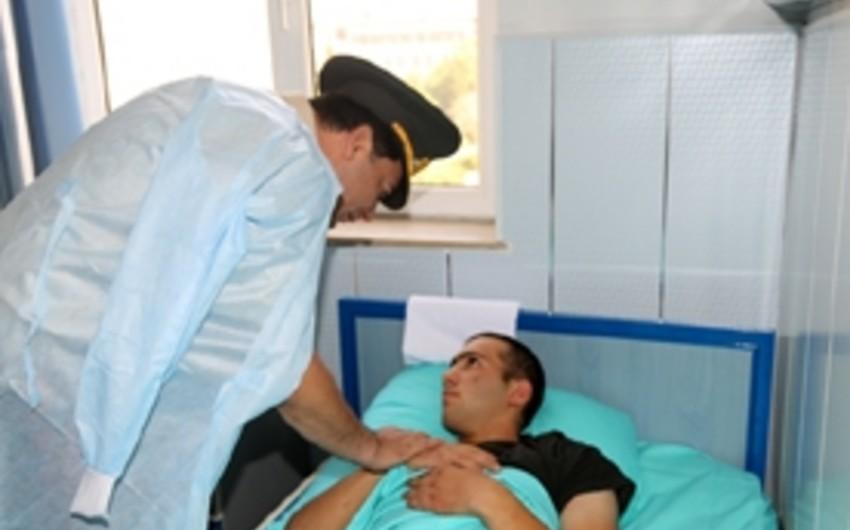 Silahlı Qüvvələrin Baş Qərargah rəisi hərbi hospitalda olub