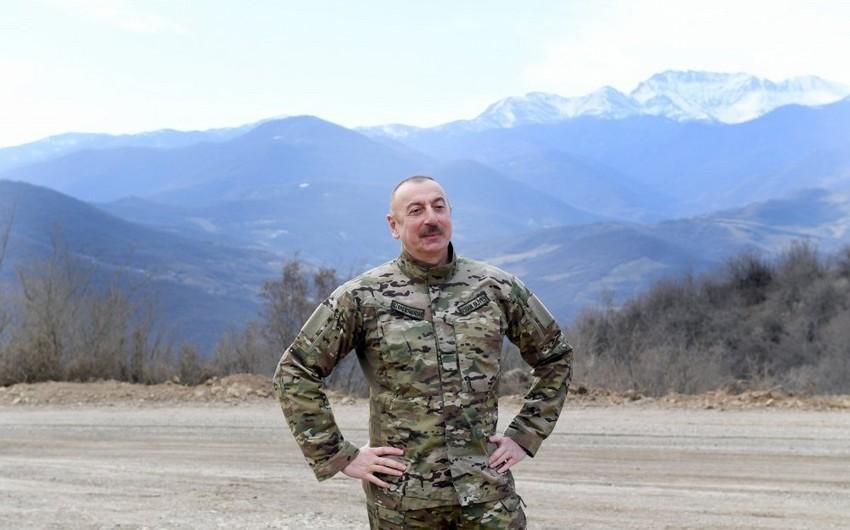 İlham Əliyev: Azad edilmiş bütün torpaqların su mənbələrinin xəritəsi hazırlanır