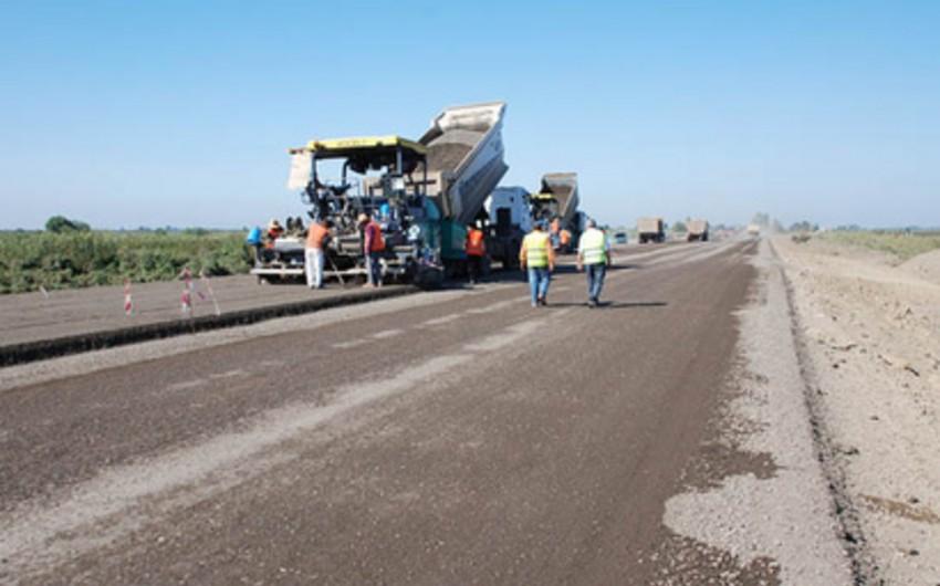 Tovuz-Hunanlar-Qaraxanlı-Düz Cırdaxan avtomobil yolunun tikintisi davam etdirilir
