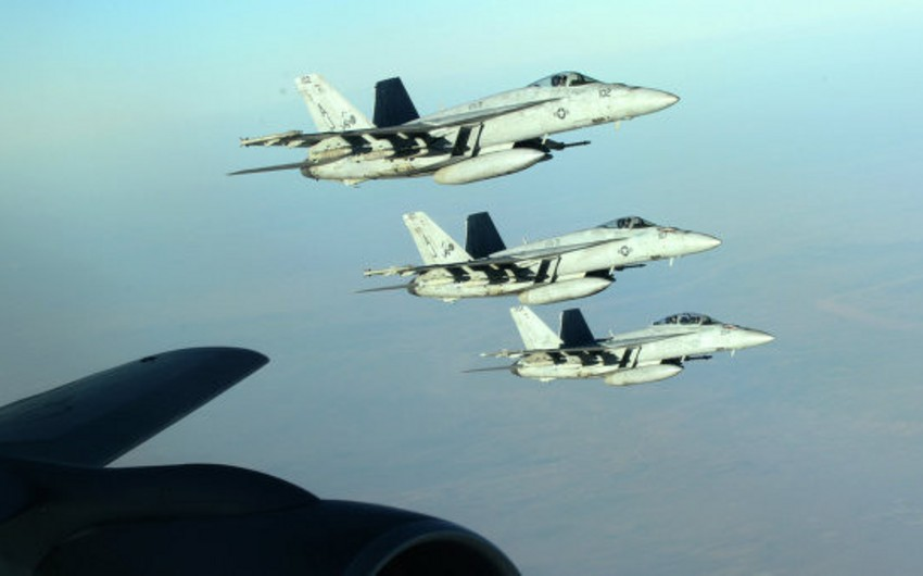 Over 40 air strikes launched on IS positions in Iraq and Syria in three days