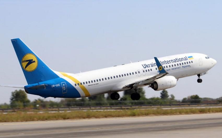 Ukrayna Beynəlxalq Hava Yolları Bakıya uçuşların sayını artırır