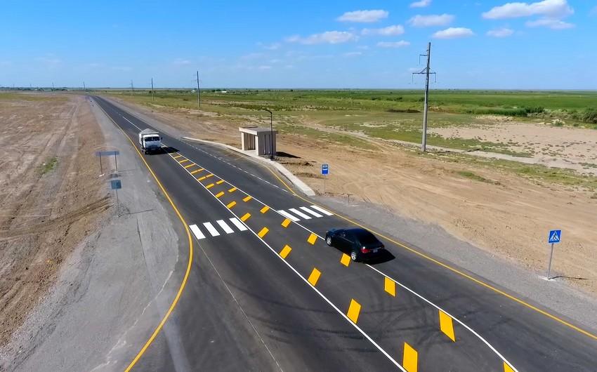 Реконструирована автодорога Бахрамтепе-Билясувар