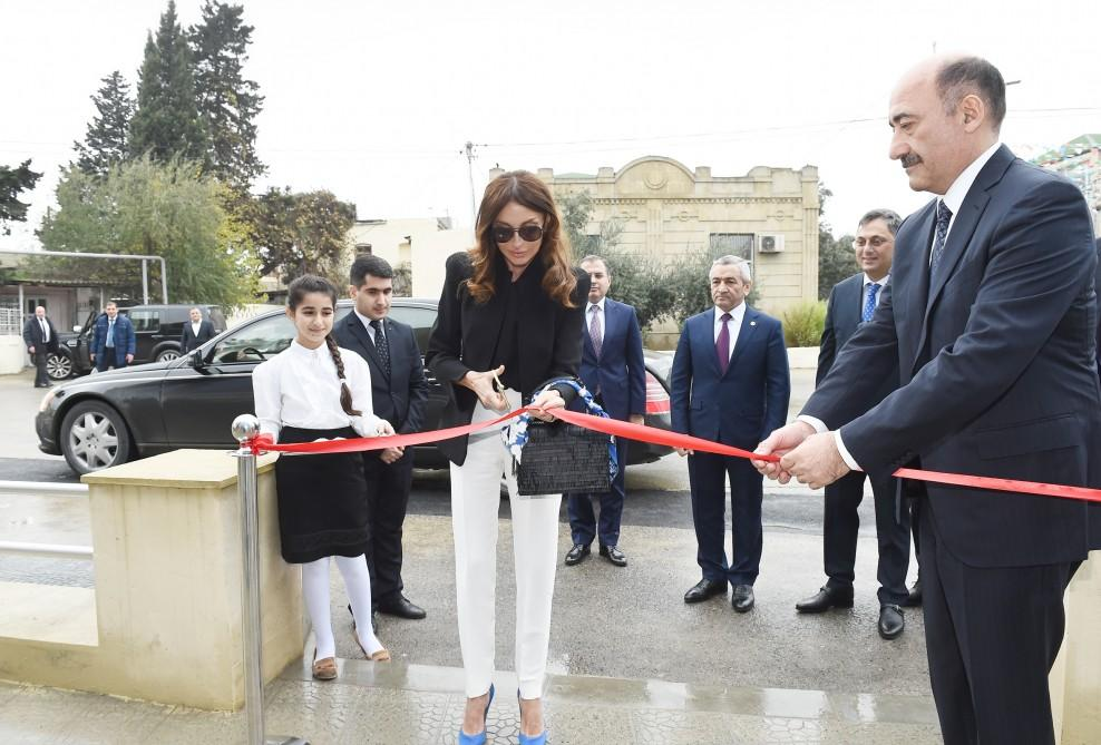 First Vice-President Mehriban Aliyeva opens new building of Mashtagha Cultural Center