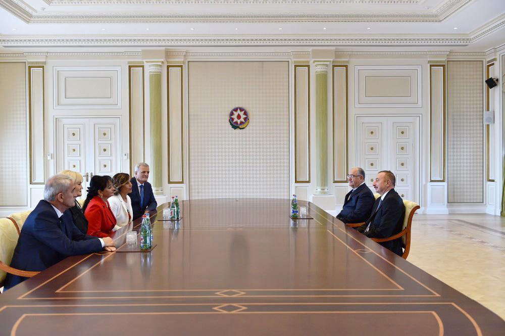 Президент Ильхам Алиев принял председателя Верховного суда Черногории