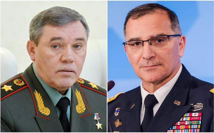 Bakıda Rusiya Baş Qərargah rəisi ilə NATO-nun baş komandanı arasında görüş keçirilib