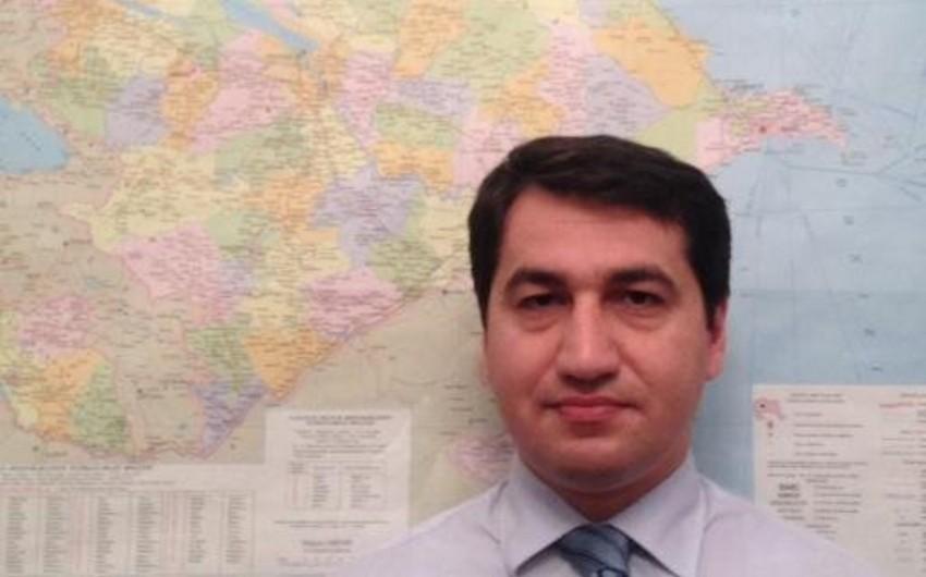 Azərbaycan XİN Serj Sarqsyanın BMT Baş Assambleyasındakı çıxışını şərh edib
