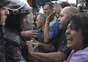 Ermənistanda maskaya görə polis-vətəndaş toqquşması olub