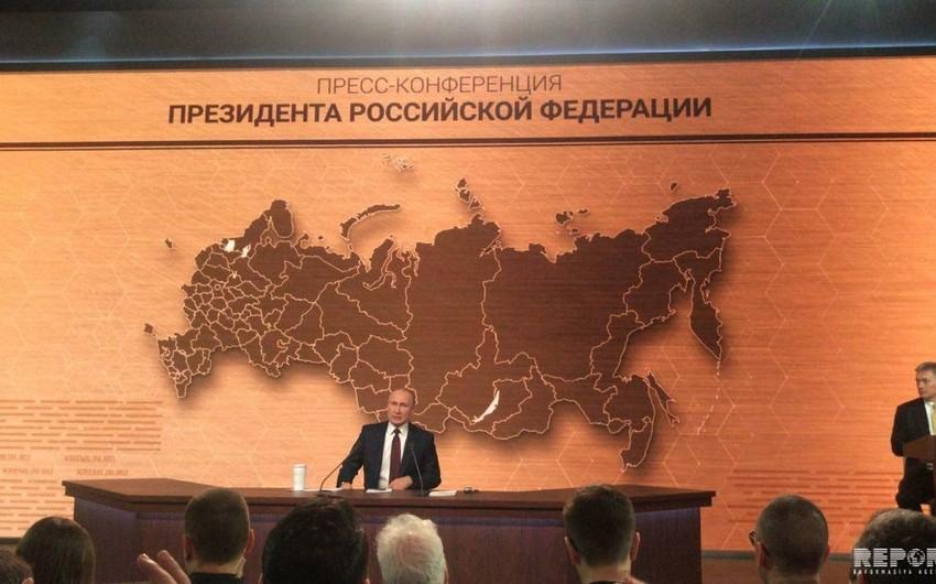 Rusiya prezidenti: Ərazi bütövlüyü ilə bağlı bütün məsələlər həll olunub